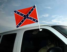 Confederate battle flag for your car